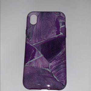 Amethyst Iphone XR case